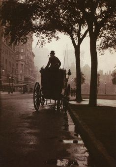 New York, c1900ish, via Flickr. I love the feel of this photo, it reminds me of Sherlock Holmes, or The Age Of Innocence.
