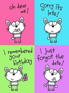 Happy Belated Birthday!!