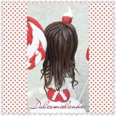 TARTA CUPCAKE PIN UP!!! Facebook dulcemielcake Dulcemielcake.blogspot.com