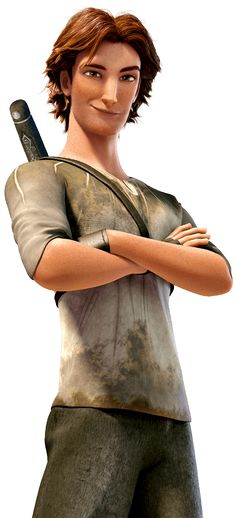 Nod from Epic voiced by Josh Hutcherson LOVE THIS MOVIE AND NOD IS AWESOME