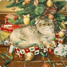 Mai presents, let me show you them! Cat art