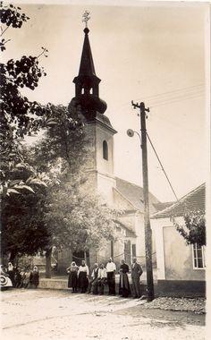 starý kostol v Kerestúre, ktorý bol zbúraný v tridsiatich rokoch minulého storočia