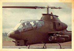 Vietnam 1968 - Cobra helicopter