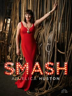 Anjelica Huston star of Smash