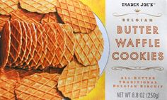 Trader Joes Butter Waffle Cookies for S'Mores Bar