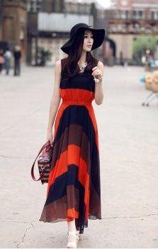 best Korean Maxi Dress