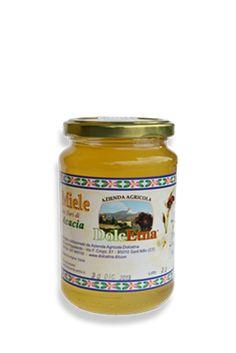 Miele vergine integrale dei fiori di Acacia