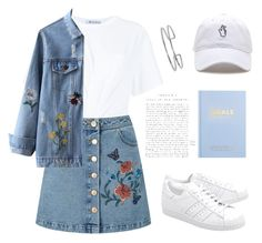 """autumn is the reincarnation of the spring"" by rinaprescott ❤ liked on Polyvore featuring T By Alexander Wang, Miss Selfridge, adidas Originals, kikki.K and Boohoo"