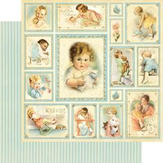 """Bundle of Joy"" from our new collection: Little Darlings! #graphic45 #winterCHA"