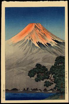 Koitsu, Tsuchiya (1870-1949) - Lake Yamanaka - 山中湖