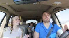 Parents lip Sing Disney's Frozen Perfectly While Daughter Ignores. Coolest parents ever!! Haha