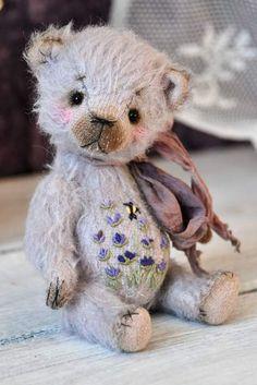Flowering Lavender By Elena Lemmer - Bear Pile