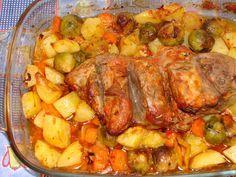Receitas práticas de culinária: Pá de porco perfumada