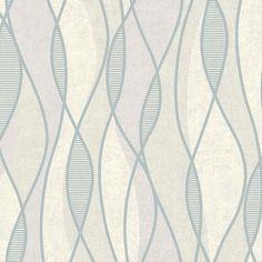 "Precision Gyro Swirl 33' x 20.5"" Geometric Wallpaper"
