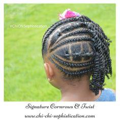 Cornrows for girls. Signature braids cornrows and twist www. Cornrows for girls. Teenage Hairstyles, Girls Natural Hairstyles, Baby Girl Hairstyles, Princess Hairstyles, Girl Haircuts, Natural Hair Styles, Short Hair Styles, Short Haircuts, Toddler Hairstyles