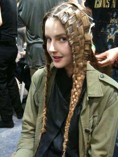 Hair Woven Amp Multistrand Braids On Pinterest Jean Paul