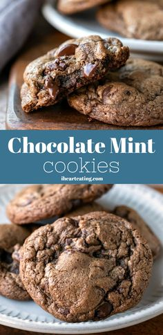 These easy one-bowl mint chocolate chocolate chip cookies are so delicious. These easy one-bowl mint chocolate chocolate chip cookies are so delicious. Chocolate Chip Shortbread Cookies, Toffee Cookies, Spice Cookies, Yummy Cookies, Heart Cookies, Brownie Cookies, Mint Chocolate Chips, Chocolate Chocolate, Chocolate Desserts