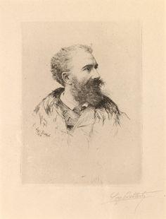 7/9- Happy Birthday, Félix Hilaire Buhot, French painter, illustrator, printmaker, 1847-1898.