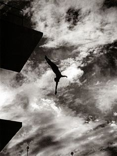 artnet Galleries: Dive from 10 Meters Tower by Leni Riefenstahl from Atlas Gallery