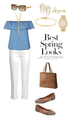 """spring"" by annalynn2424 ❤ liked on Polyvore featuring Joseph, Old Navy, Lana, Sydney Evan, Tiffany & Co., MICHAEL Michael Kors, Tory Burch, BERRICLE, H&M and SOREL"