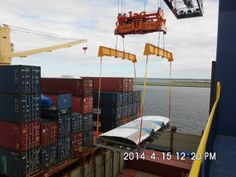 Unloading Centre Wing, Sydney International Container Terminal