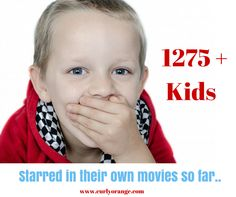 CurlyOrange.com registered more than 1275+ kids who starred in their own personalized movies till date.
