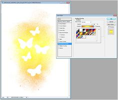 Four Ways to Alter Misted Products – Digital SCrapbooking Tutorial using Butterflies: Drawn & Spritz by Sahlin Studio