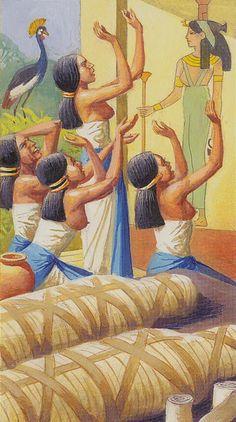2 de bâtons - Ramsès : Tarot de l'éternité par Severino Baraldi