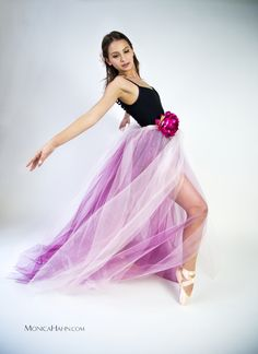 """Alexa in my pink """"frock"""" photographed by Monica Hahn."""