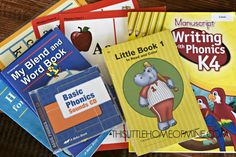 Four-Year Old Homeschool Preschool: A Beka Phonics by This Little Home of Mine