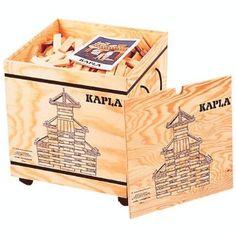 Piatnik 6810 - Kapla Holzkiste, 1000 Teile: Amazon.de: Spielzeug