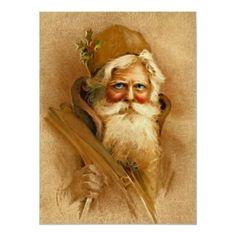 Old World Santa Claus, Vintage Victorian St. Nick