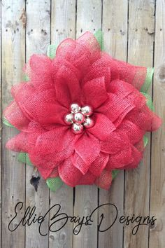 Red Christmas Poinsettia Wreath for Front Door, Elegant Red Christmas Flower Wreath, Winter Poinsettia Welcome Wreath Decor Spring Wreaths, Summer Wreath, Christmas Wreaths, Christmas Decorations, Holiday Decor, Poinsettia Wreath, Wreath Making, Original Gifts, Christmas Gift Guide