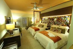 Guest #suite at Breathless Punta Cana Resort & Spa in the Dominican Republic.