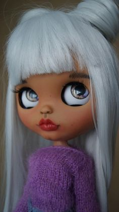 Confident Sarah Ooak Custom Blythe Tbl Fake Doll Numerous In Variety Dolls, Clothing & Accessories Blythe