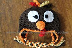 My Creative Side: Turkey Hat {FREE PATTERN}