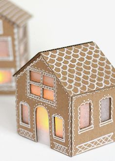 Cardboard Christmas Decorations 3