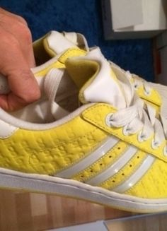 new arrival 0130a 8f5f1 Adidas Superstar Adicolor gelb yellow Rarität Retro Vintage 43