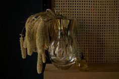Love collection   Handmade crystal collection of glass vase. Small size. Hand-cut. Designed by Rony Plesl. Colaboration with Byssine. Photo: Aneta Benedict Crystal Collection, Glass Vase, Crystals, Interior, Handmade, Design, Home Decor, Hand Made, Decoration Home