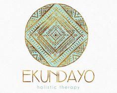 Diseño Mandala círculo insignia menta y oro de menta menta