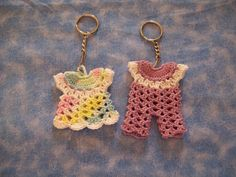 Amazing Crochet Keychains Patterns | Trendy Mods.Com