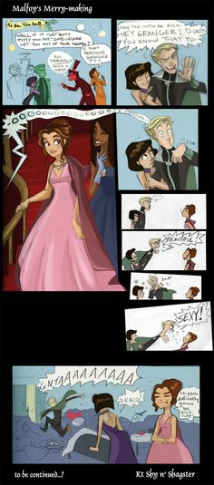 Simply Potterific 14 by ~ktshy on deviantART. I always knew he had a secret sweet spot for Hermione :)