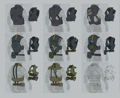 Rocketumblr | ajtron: Concept art for Metal Gear Online