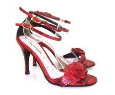 Evita Rojo negro