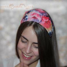 Summer Headbands, No Slip Headbands, Vintage Headbands, Fabric Headbands, Headbands For Women, Black Headband, Wide Headband, Knot Headband, Short Hair Accessories