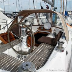 s/y Aina Our boat is a Stevens Custom She was designed by Sparkman & Stephens, and is a far less known little sister to the famous Stevens built by the same Queen Long Marine … Gas Stove With Oven, Hf Radio, Marine Traffic, Small Toilet, Us Sailing, Charter Boat, Dinghy, Rafting, Solar Panels
