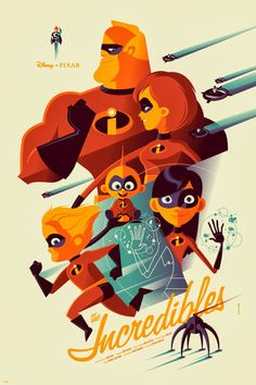 'The Incredibles' by Tom Whalen