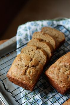 Whole Wheat Banana Bread with Greek Yogurt