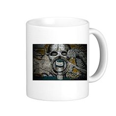 SthAmazing Graffiti no.12.... Coffee Mug Designs Photo Cups *** For more information, visit now : Cat mug