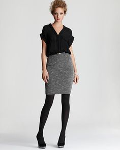 Dolce Vita combo belted dress